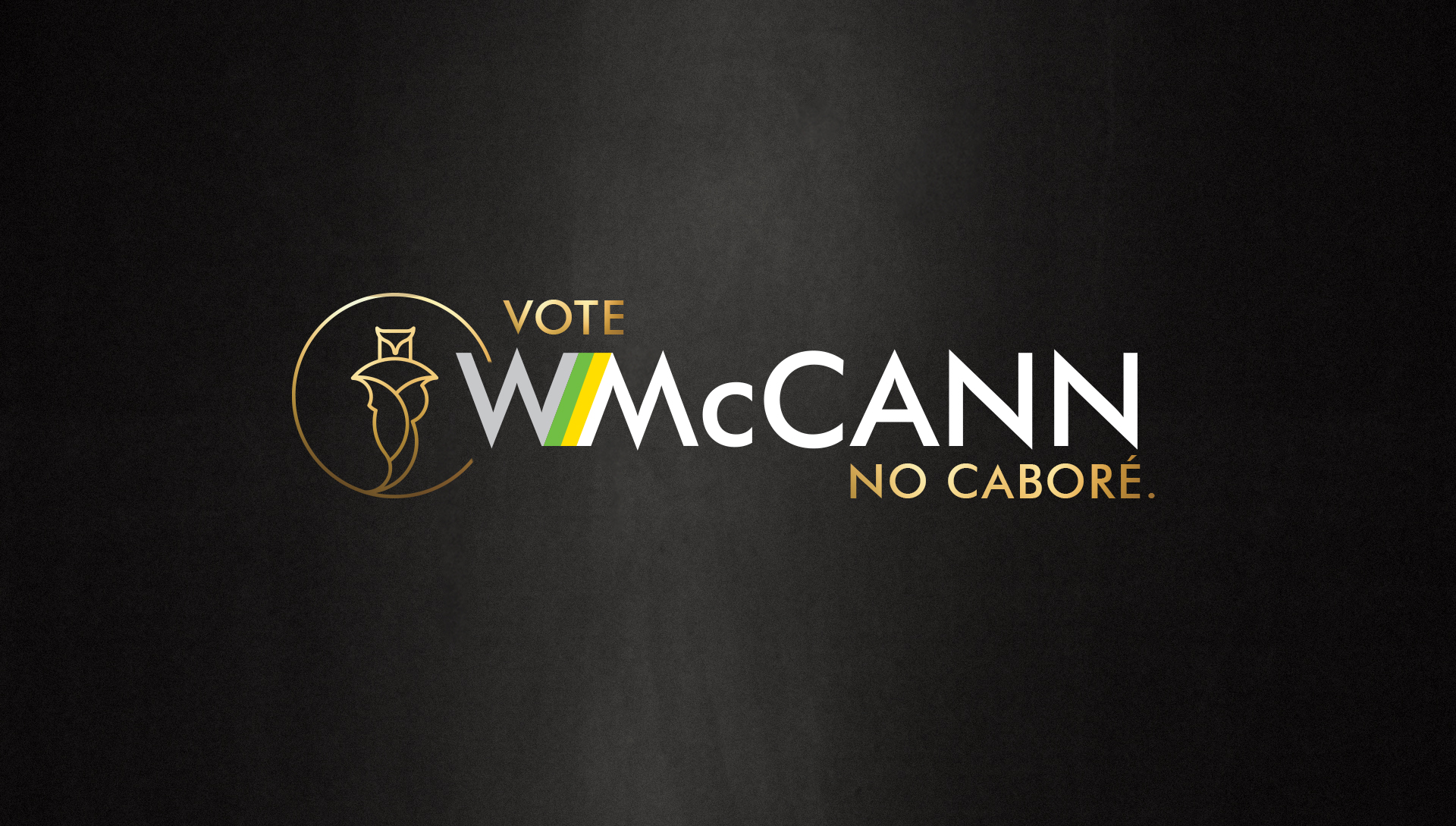 Vote WMcCann no Caboré