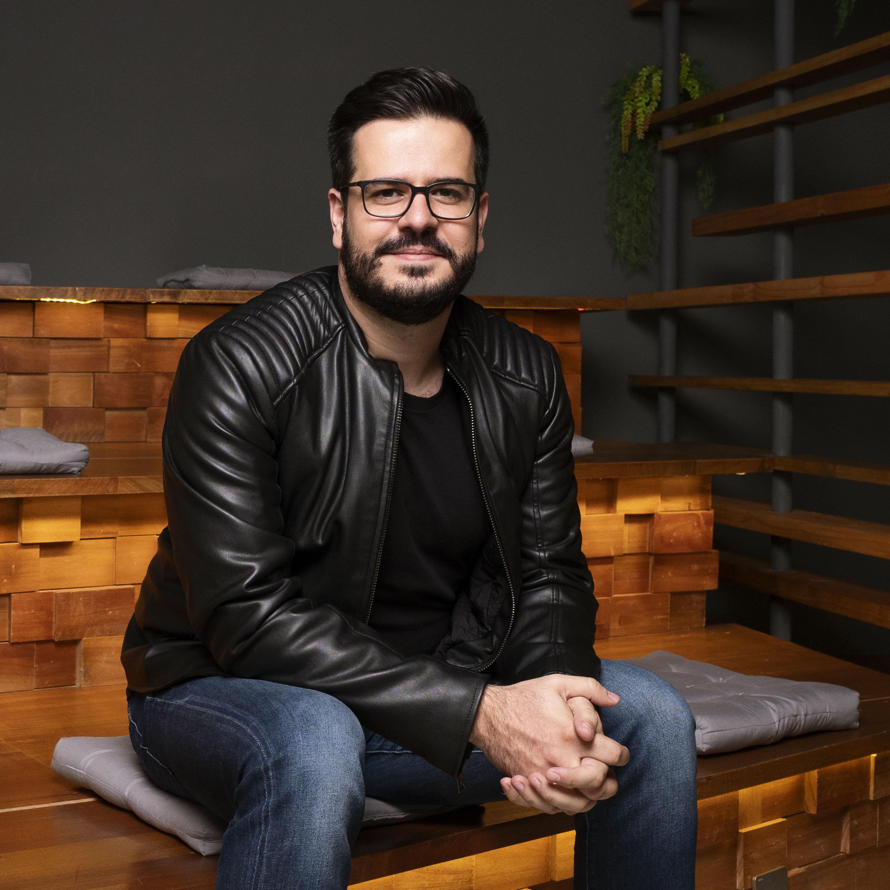 André Marques, VP de criação.