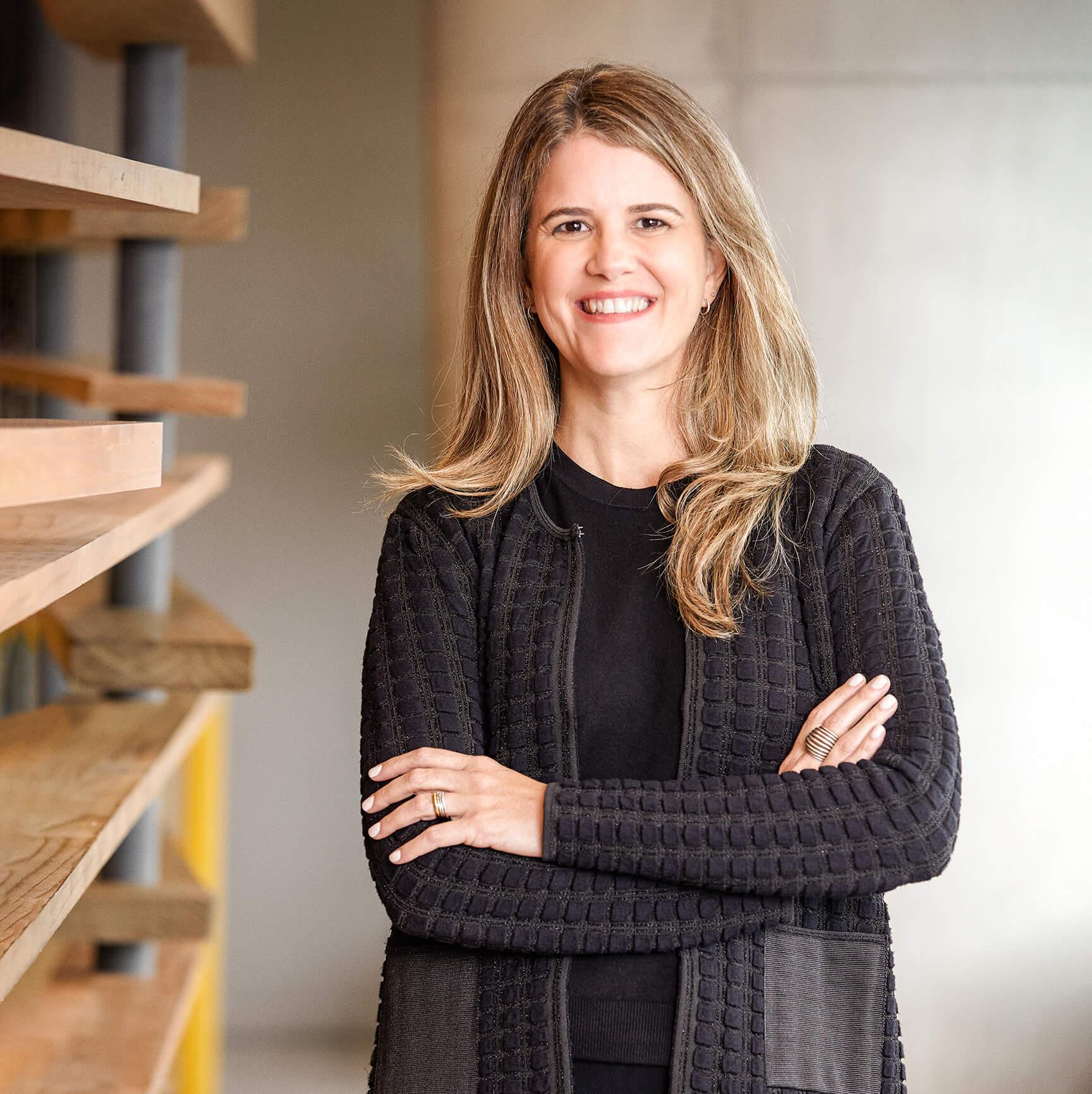 Paula Molina, diretora de recursos humanos.