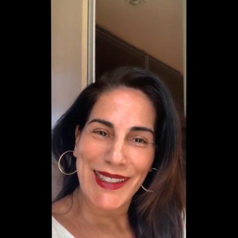 Imagem da atriz Glória Pires
