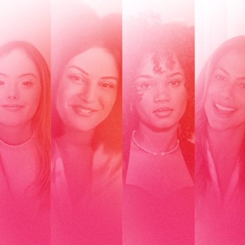 A imagem é dividida com fotos de todas as influenciadores que participam da websérie Todo sonho vale muito. São elas: Larissa Manoela, Agnes Nunes, Gabriela Loran, Maju de Araújo, Mari Gonzales e Gabriela Verisani.