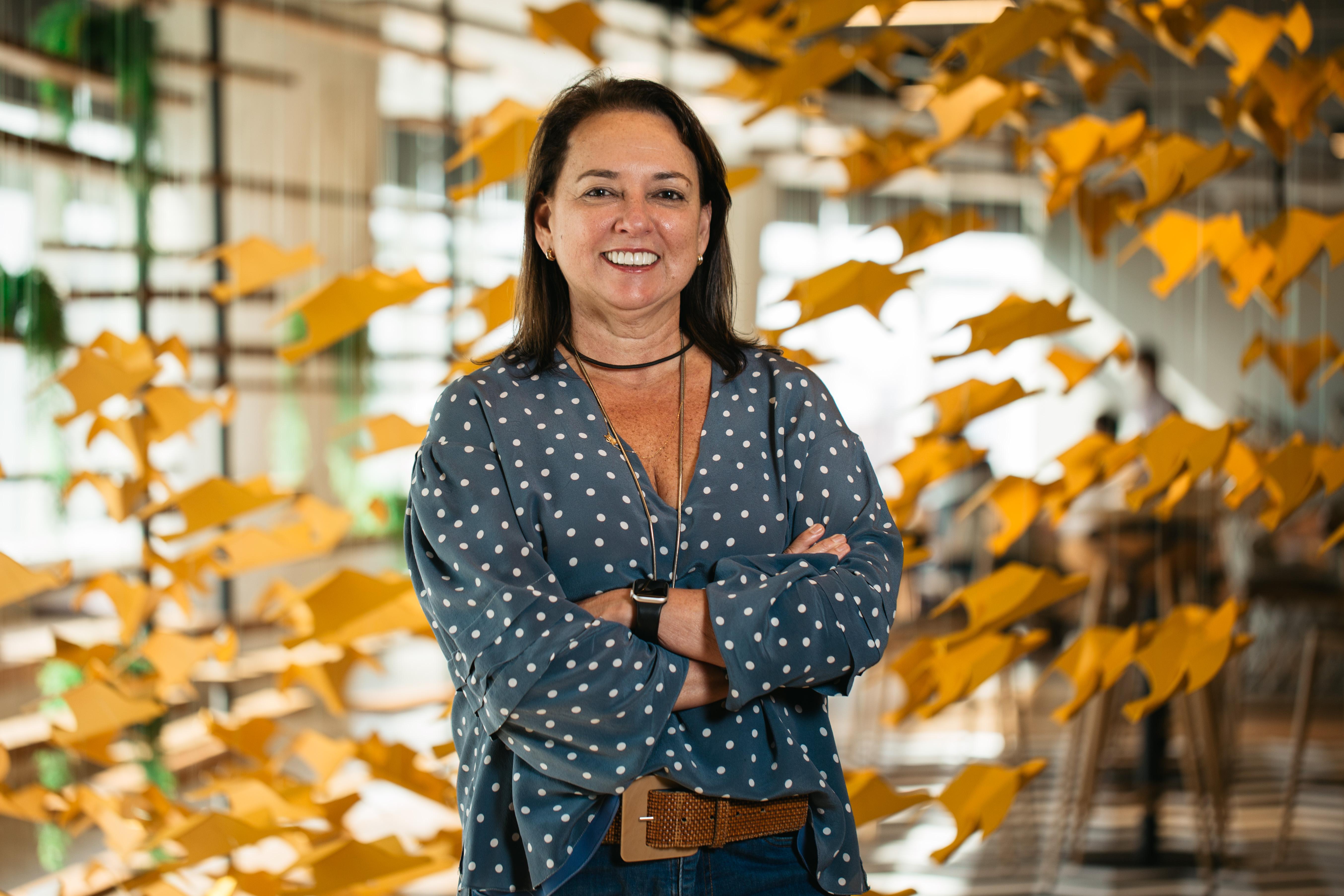 Patrícia Andrade, nova VP Executiva e diretora-geral da WMcCann Brasília.